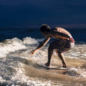Skimboardas SkimOne Fiberwood-44-112cm Sea Surf Sun