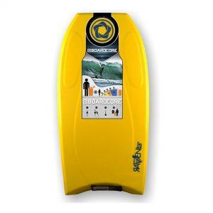 Puslentė BOARDCORE Bodyboard Raven 40 Yellow