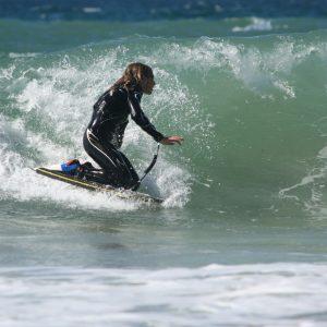 Bodybordas Wave Power Bodyboard Woop 37 Lime Orange