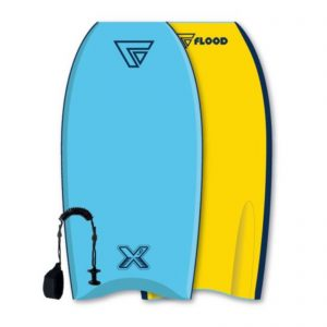 Puslentė Flood Bodyboard Dynamx Stringer 40 Blue Yellow