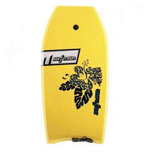 Puslentė SurfnSun Bodyboard Hinanui 41 Yellow-Black