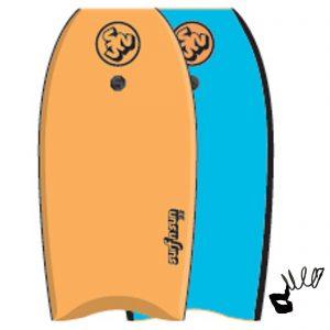 Puslentė SurfnSun Bodyboard Similar 39 Orange Blau