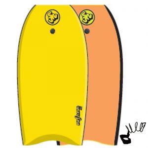 Puslentė SurfnSun Bodyboard Similar 42 Gelb Orange
