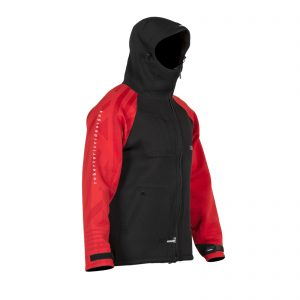RRD Neoprene Long Jacket red/black