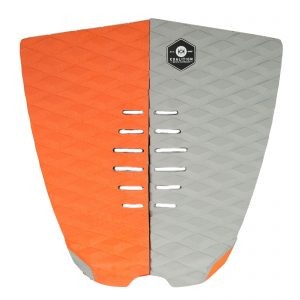 KOALITION Footpad Deck Grip BARREL Orange Grey 2pcs