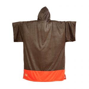 PONCHO SNIPER Change Robe Poncho Unisize Black Bunch Red