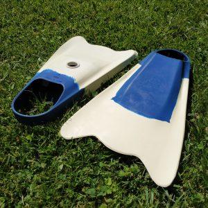LĄSTAI Bugz Bodyboard Flosse BAT FIN dydis S