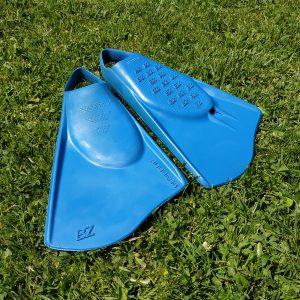 LĄSTAI BZ Surf Fins Rubbers Medium Blue 5.5-7