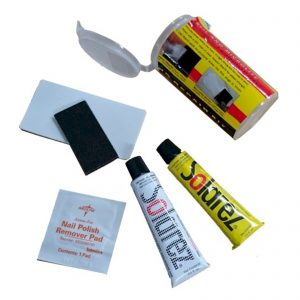 Kelioninis Remonto Komplektas SOLAREZ Mini Travel Kit Repair UV Licht Reparatur